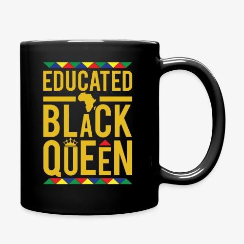 Educated Black Queen - Full Color Mug