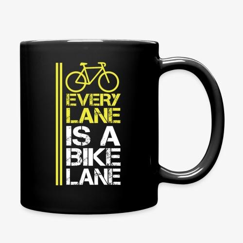 Every lane is a bike lane - Full Color Mug