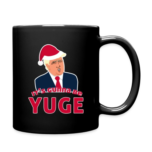 funny gift It's Gunna be Yuge - Trump Christmas - Full Color Mug