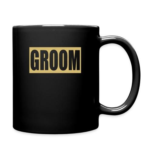 Groom Engagement Wedding - Full Color Mug