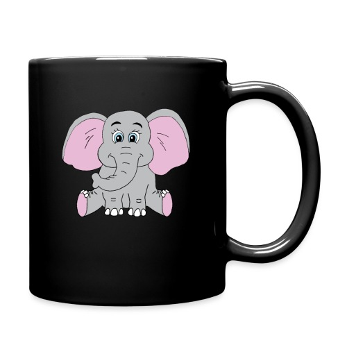 Cute Baby Elephant - Full Color Mug