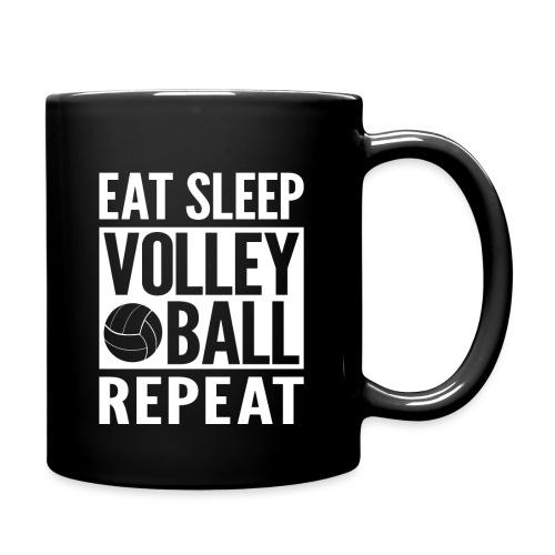 Eat Sleep Volleyball Repeat - Full Color Mug