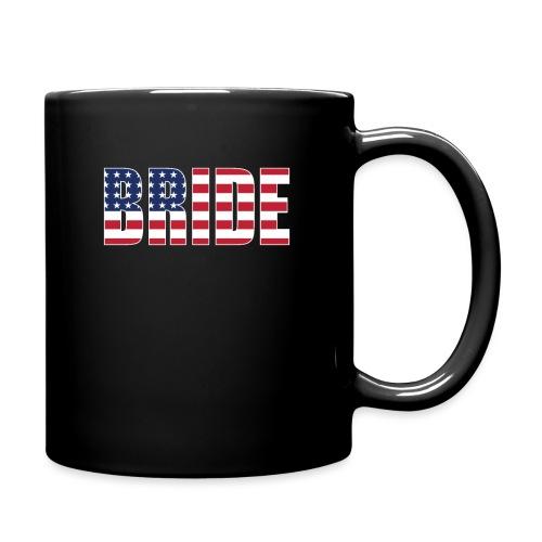 Bride Us Flag - Full Color Mug