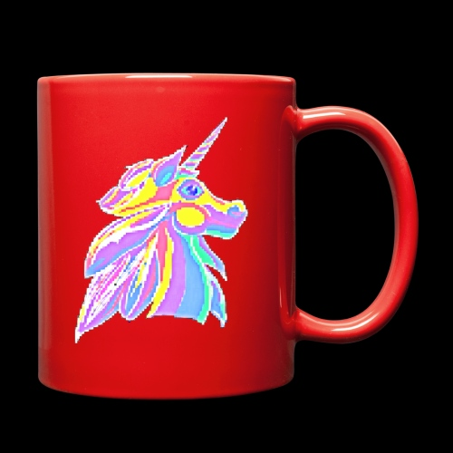 Pixellent Unicorn - Full Color Mug