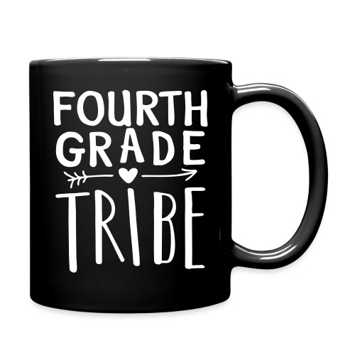 Fourth Grade Tribe Teacher Team T-Shirts - Full Color Mug