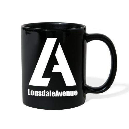 Lonsdale Avenue Logo White Text - Full Color Mug