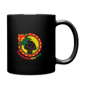 Cannabis On Fire 420 Power - Full Color Mug