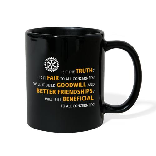 Four Way Test - Full Color Mug