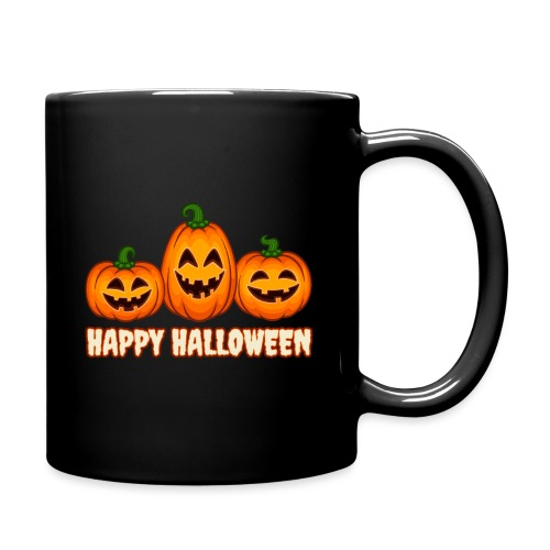 Happy Halloween Pumpkin Squad | Jack O' Lantern - Full Color Mug