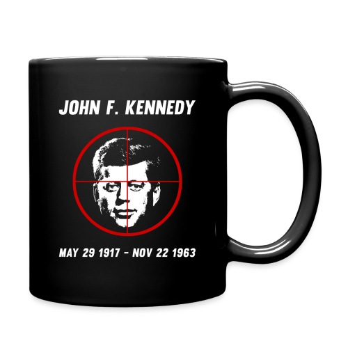 John F. Kennedy Assassination - Full Color Mug