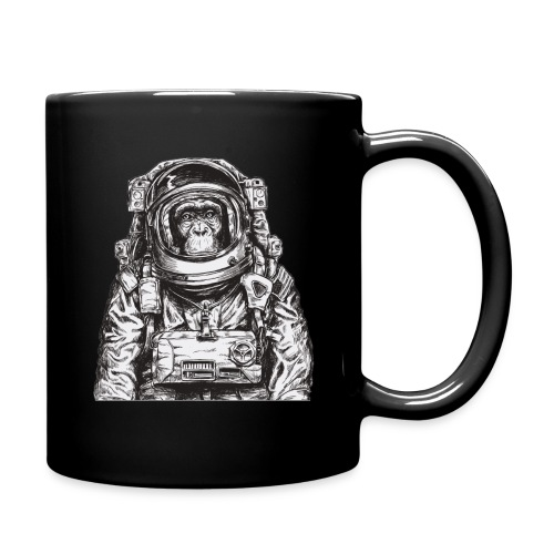 Monkey Astronaut - Full Color Mug