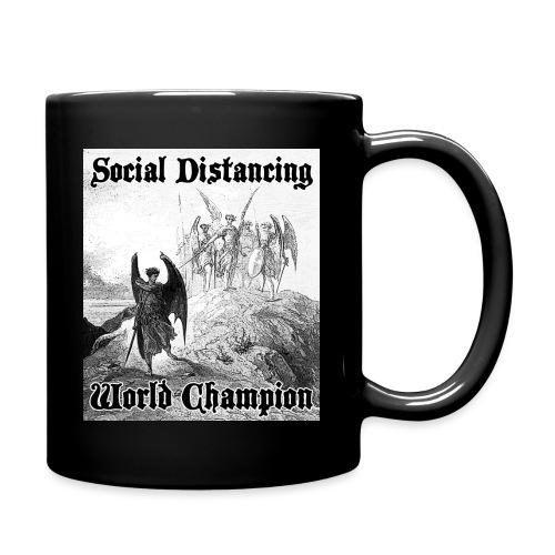 Social Distancing World Champion - Full Color Mug