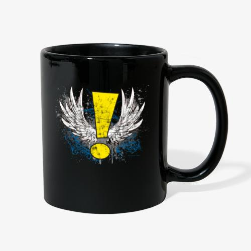 Winged Whee! Exclamation Point - Full Color Mug