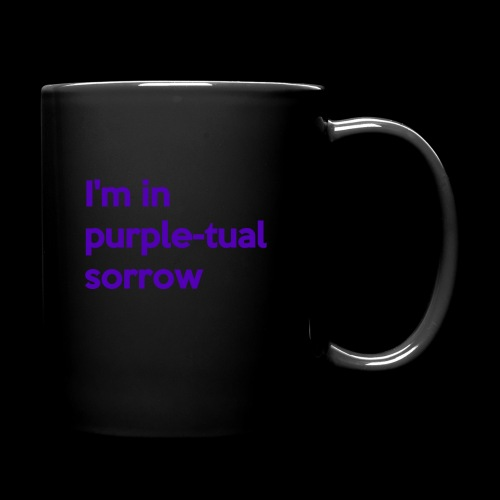 Purple-tual sorrow - Full Color Mug