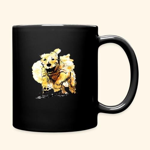 oil dog - Full Color Mug