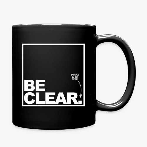 Be Clear PERIOD - Full Color Mug