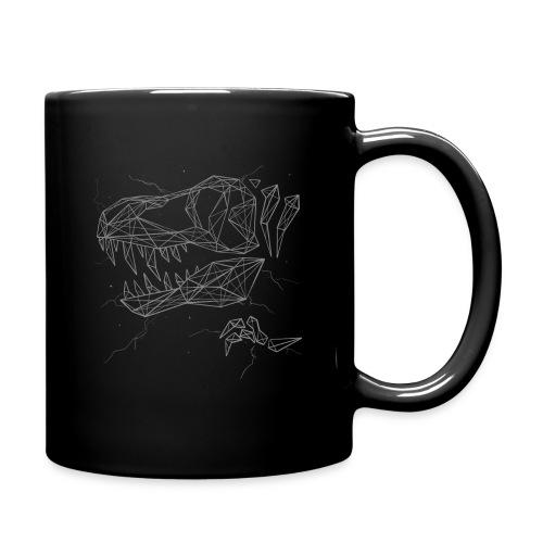 Jurassic Polygons by Beanie Draws - Full Color Mug