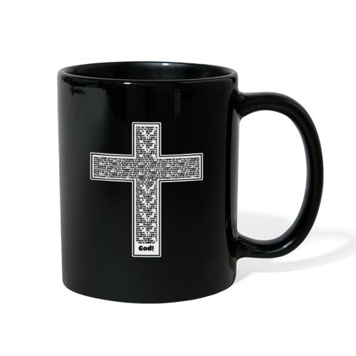 Jesus cross. I'm no longer a slave to fear. - Full Color Mug