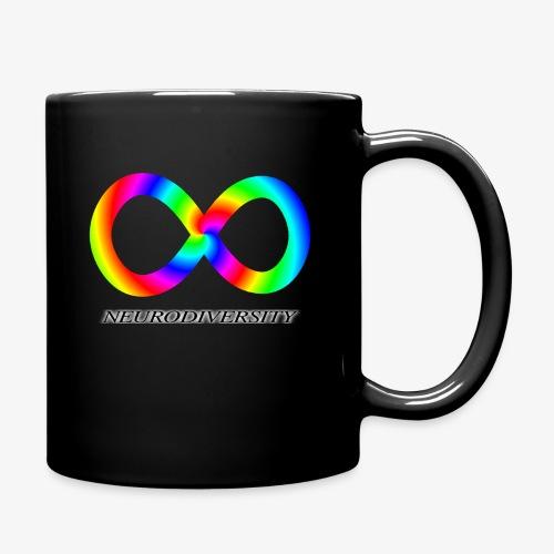 Neurodiversity with Rainbow swirl - Full Color Mug