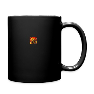 BIG CRAZY APPLE LOGO - Full Color Mug