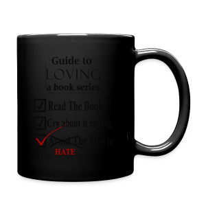 Guide To Loving A Book Series (Black) - Full Color Mug