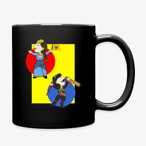 Cartoon - Pontios/lyra & Pontia/flag - Full Color Mug
