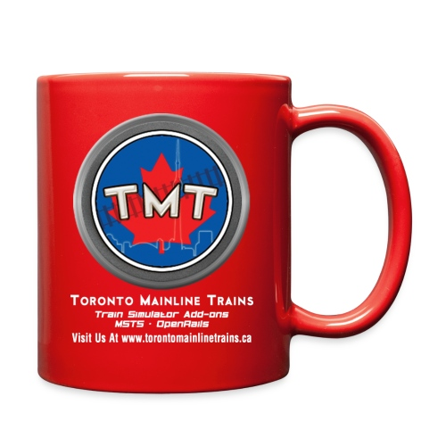 TMT White Letter Version2 - Full Color Mug