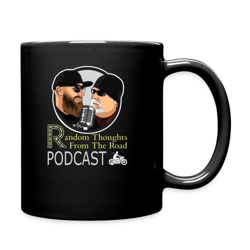 Random Thoughts from the Road Podcast T-Shirt - Full Color Mug