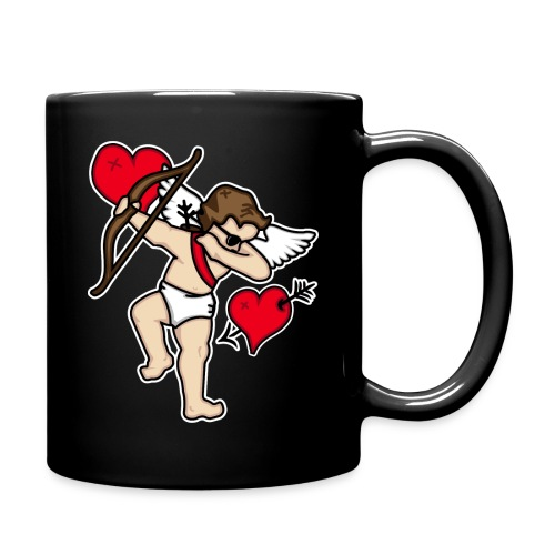 Dabbing Cupid For Valentines Day Gift T shirts - Full Color Mug