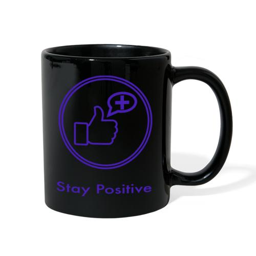 Stay Positive Icons without inwils - Full Color Mug