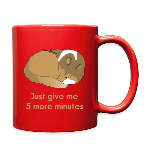 Sleeping Holly 5 minute - Full Color Mug
