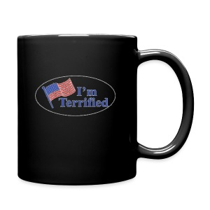 I'm Terrified by Trump - Full Color Mug