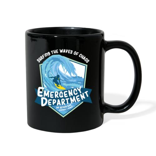 Surfing the waves of chaos - Full Color Mug