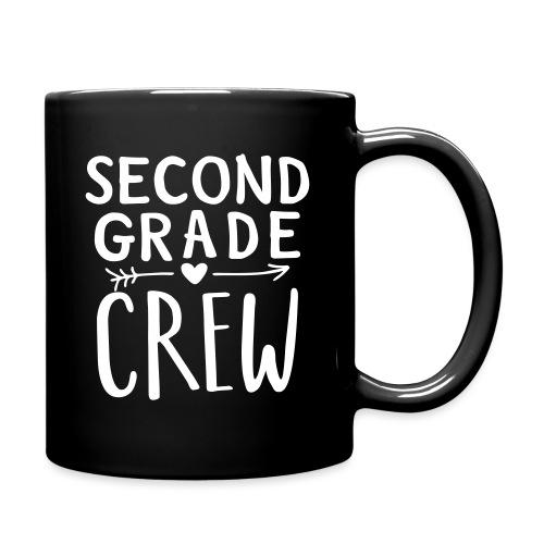 Second Grade Crew Heart Teacher T-Shirts - Full Color Mug