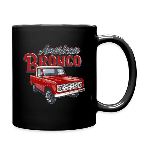American Bronco Half Cab T-Shirt - Full Color Mug