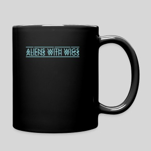 AliensWithWigs-Logo-Bleu - Full Color Mug