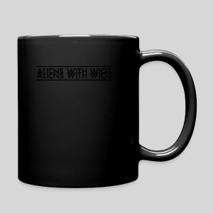 AliensWithWigs-Logo-Noir - Full Color Mug