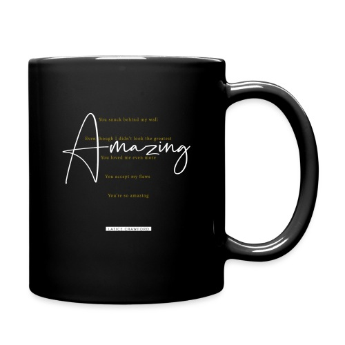 AMAZING (White Design) - Full Color Mug