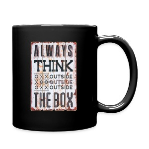Always think outside the box - Full Color Mug