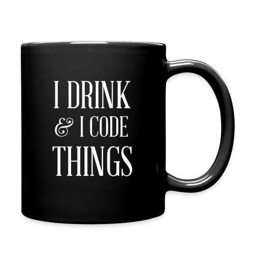TDL - Drink and Code - Full Color Mug