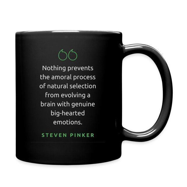 T Shirt Quote Nothing prevents Steven Pinker