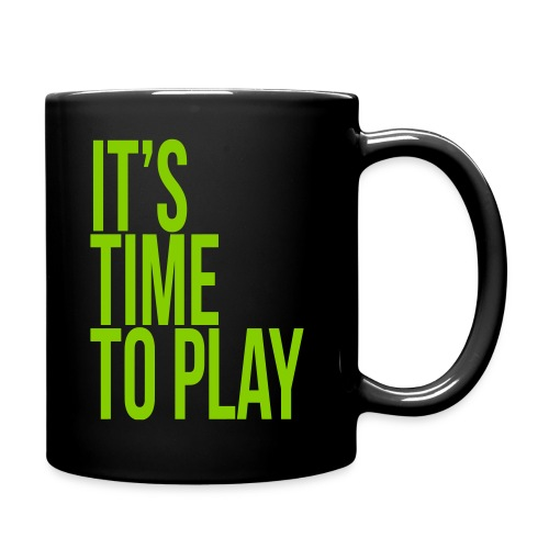It's time to play - Full Color Mug