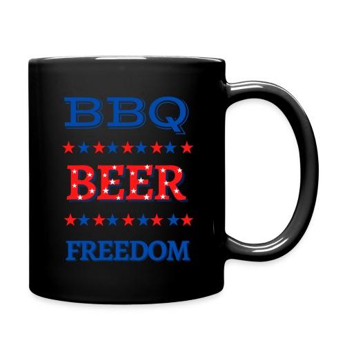 BBQ BEER FREEDOM - Full Color Mug