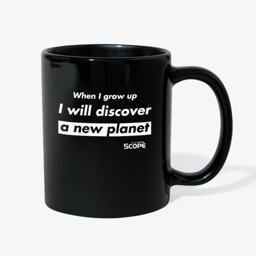 Solar System Scope : I will discover a new Planet - Full Color Mug