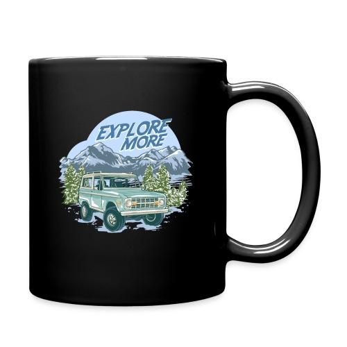 Bronco Truck Explore more II Graphic T-Shirt - Full Color Mug