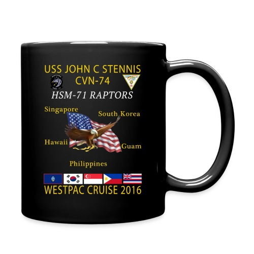 STENNIS HSM71 2016 CRUISE png - Full Color Mug