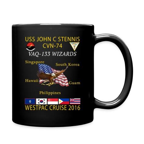 STENNIS VAQ133 2016 CRUISE png - Full Color Mug