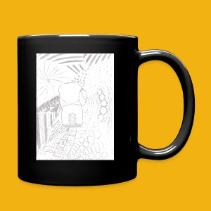 Messy Zentangle Boxing glove (TCOU) - Full Color Mug