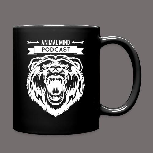 Animal Mind Podcast - Growling Bear Logo - Full Color Mug
