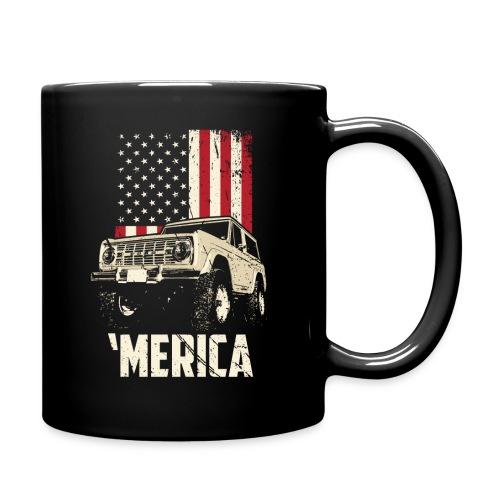 Bronco 'Merica Truck - Full Color Mug